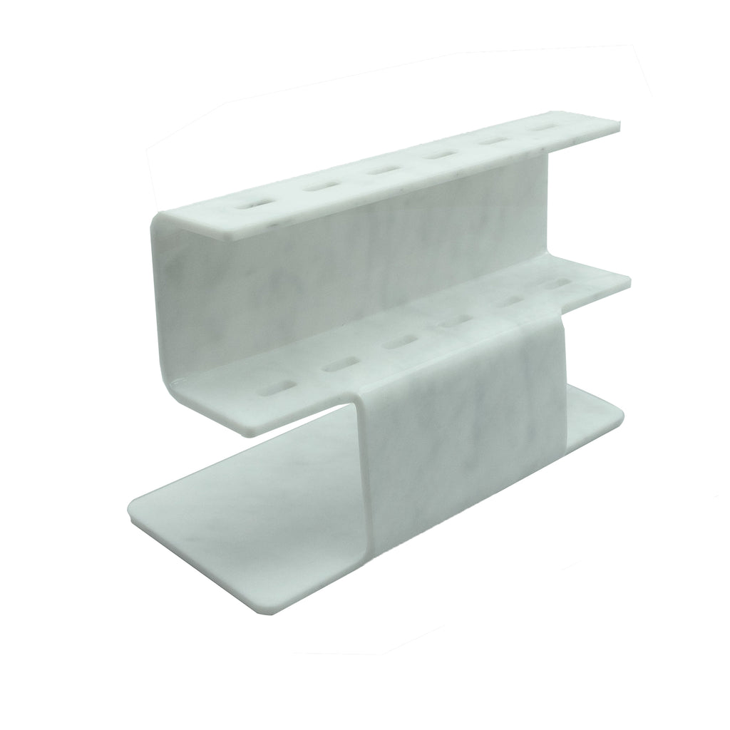 Marble Acrylic Tweezer Stand - Lashmer Nails&Eyelashes Supplier