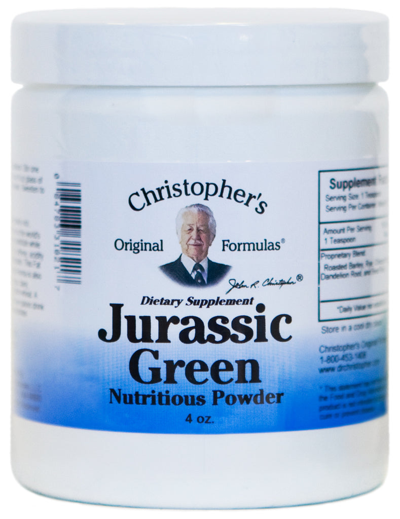 Jurassic Green Powder 4 oz.
