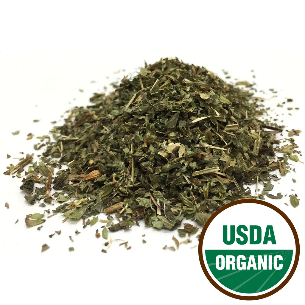 Organic Lemon Balm Leaf Cut