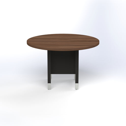 Linea Due Small Round Meeting Table