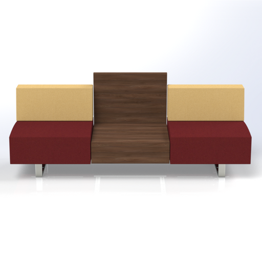 Ethan 2-Seat Sofa with Coffee Table