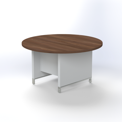 Linea Due Round Meeting Table