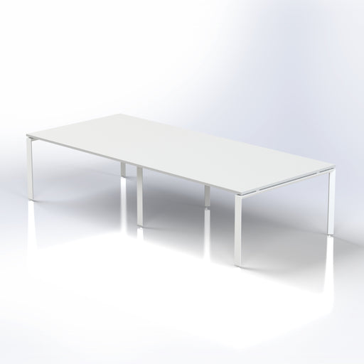 Diamond Rectangular Meeting Table for 10-12