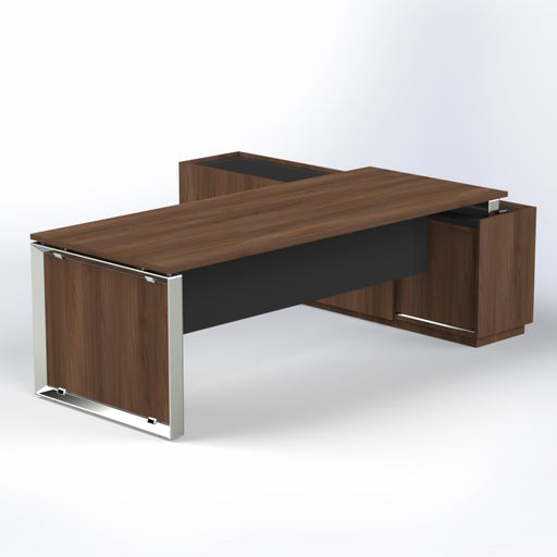 Elite Desk with Credenza