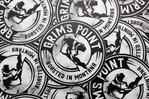 Grim's Point Sticker
