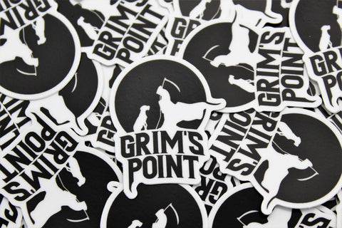 Grim's Point Reaper Sticker