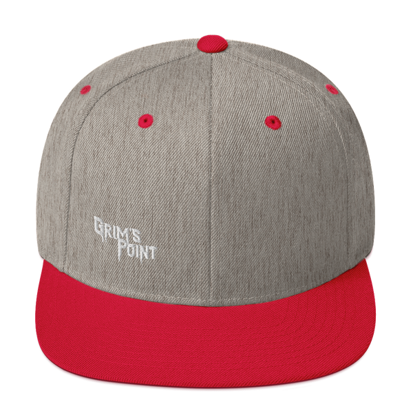 GP Snapback Hat (White Logo)