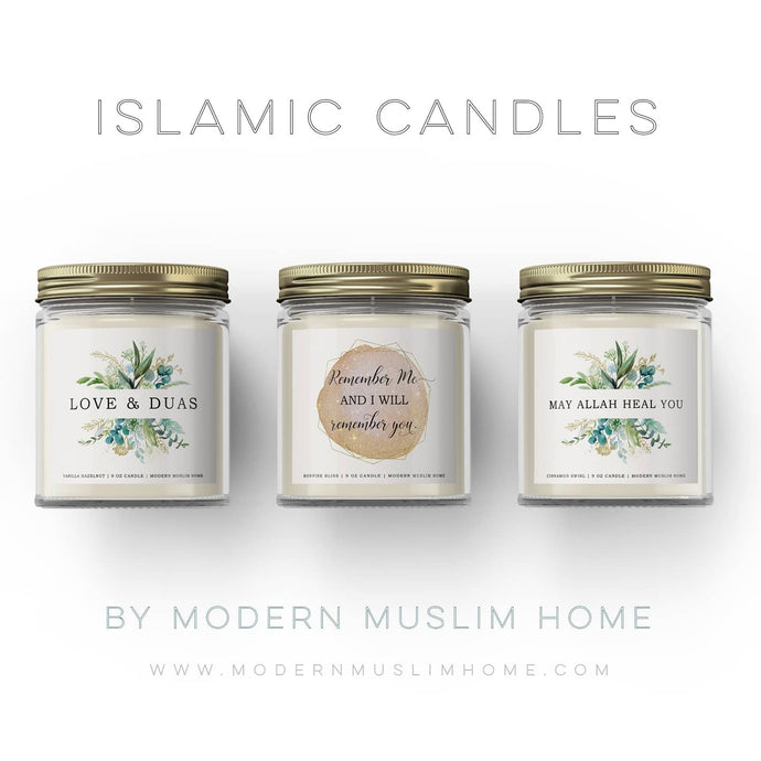 Islamic Candles SALE - Up to 20% off this week only!