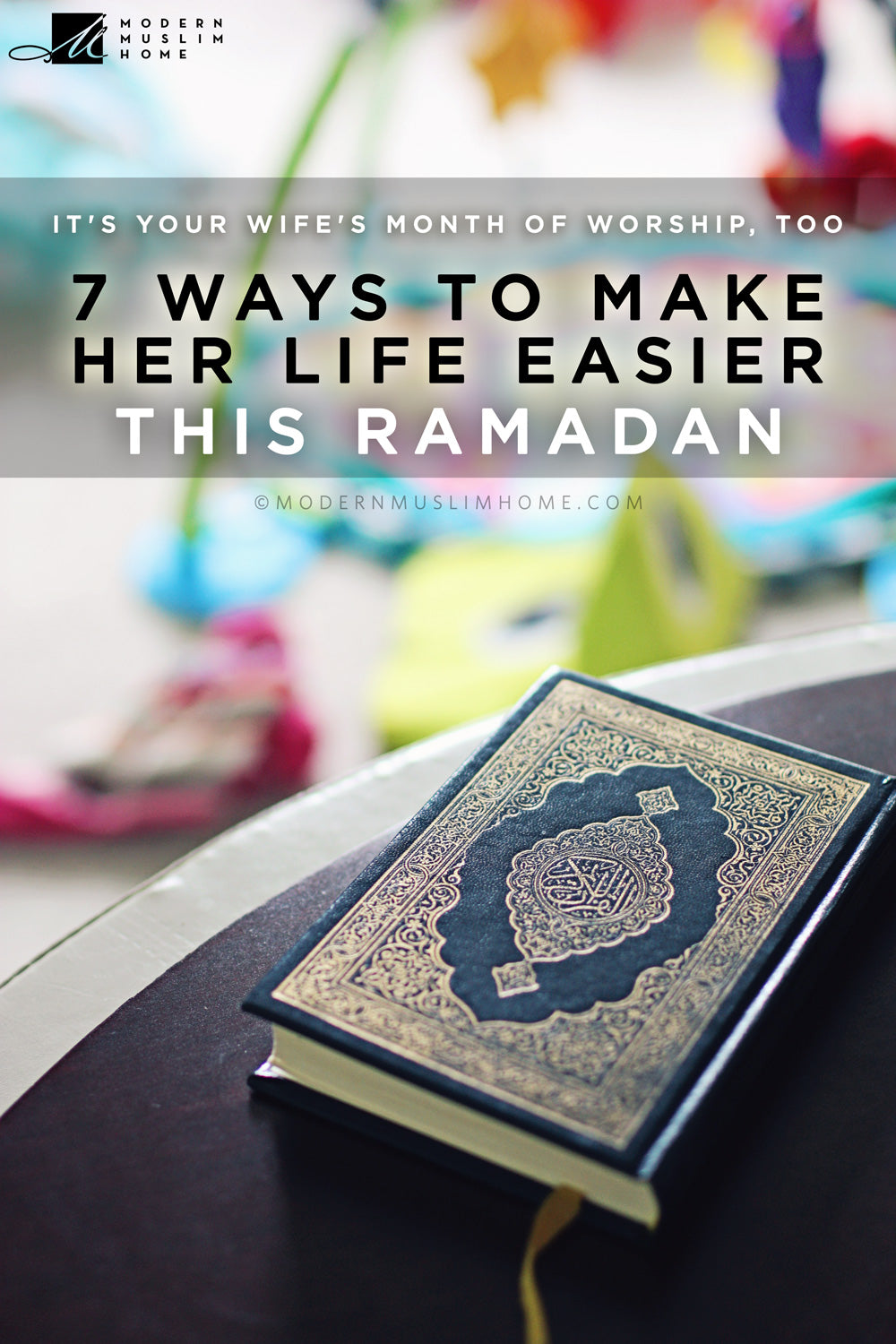 7 Ways To Help Your Wife This Ramadan