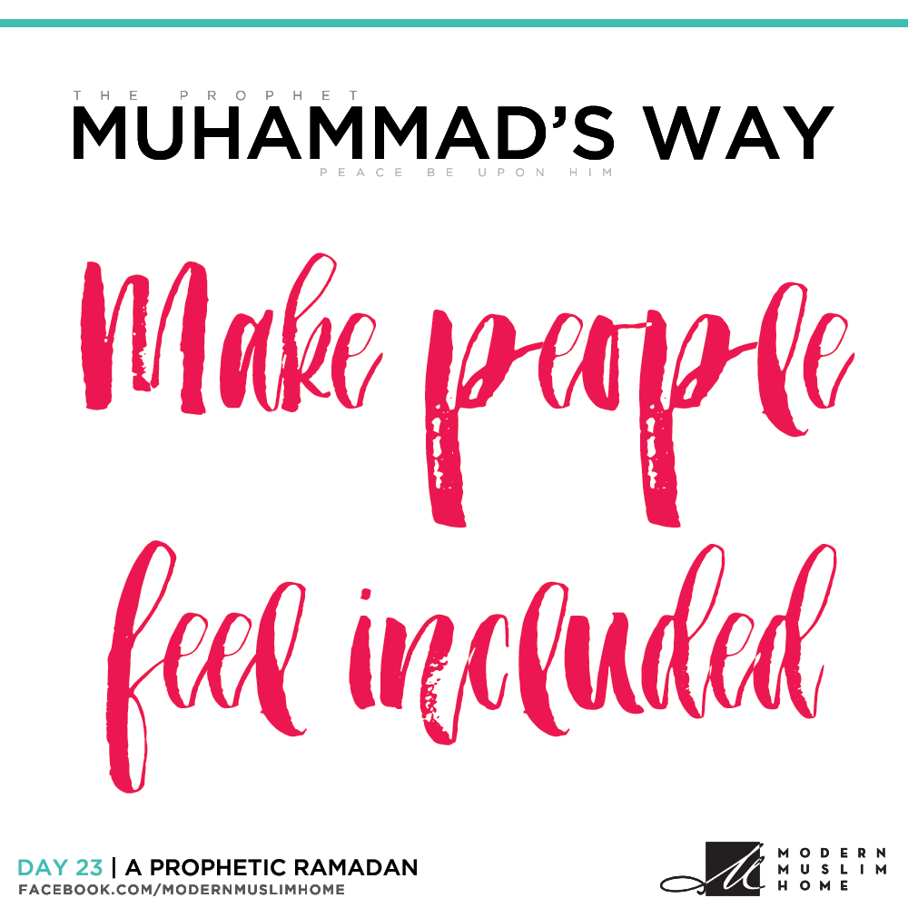 Make people feel included | ModernMuslimHome.com