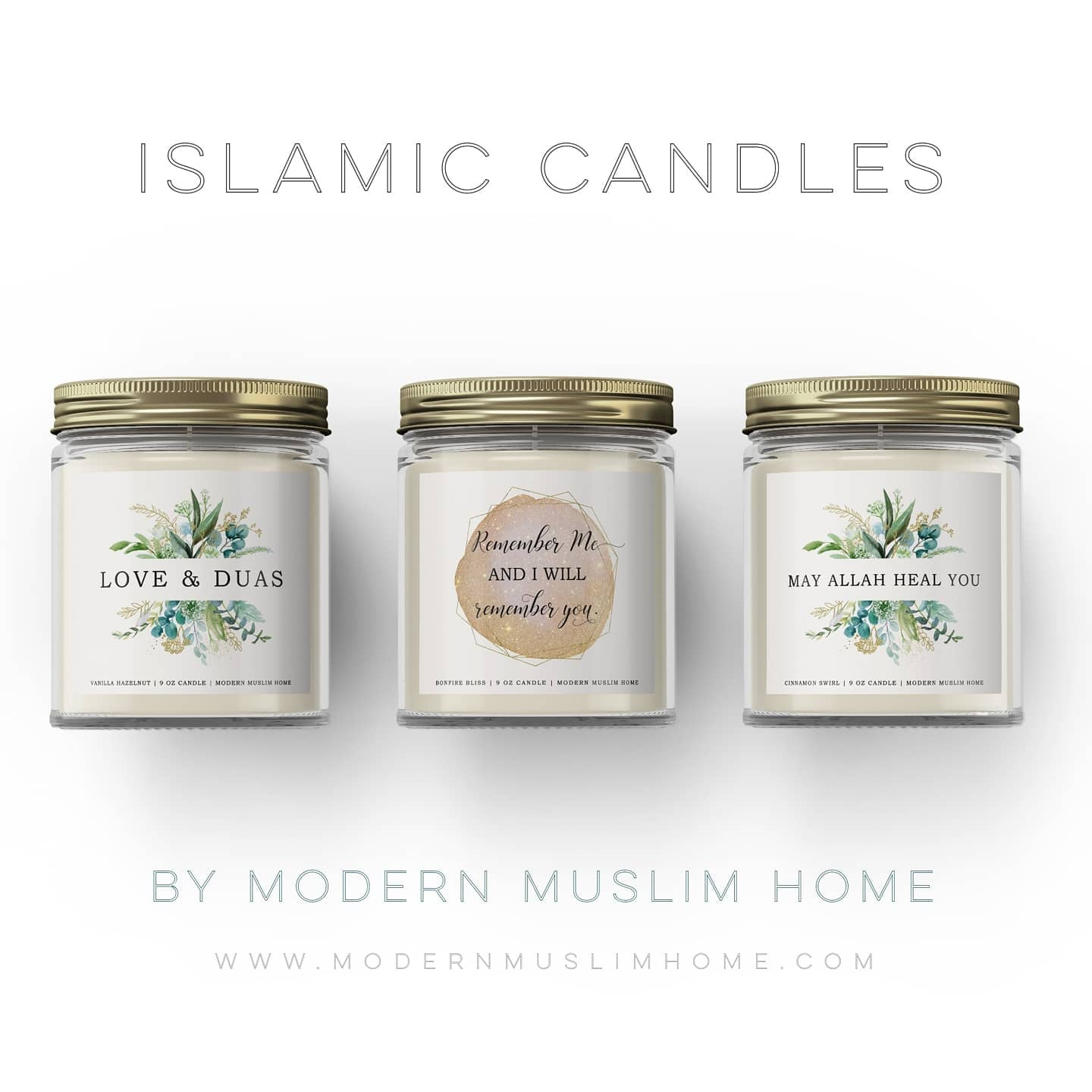 Islamic Candles by Modern Muslim Home