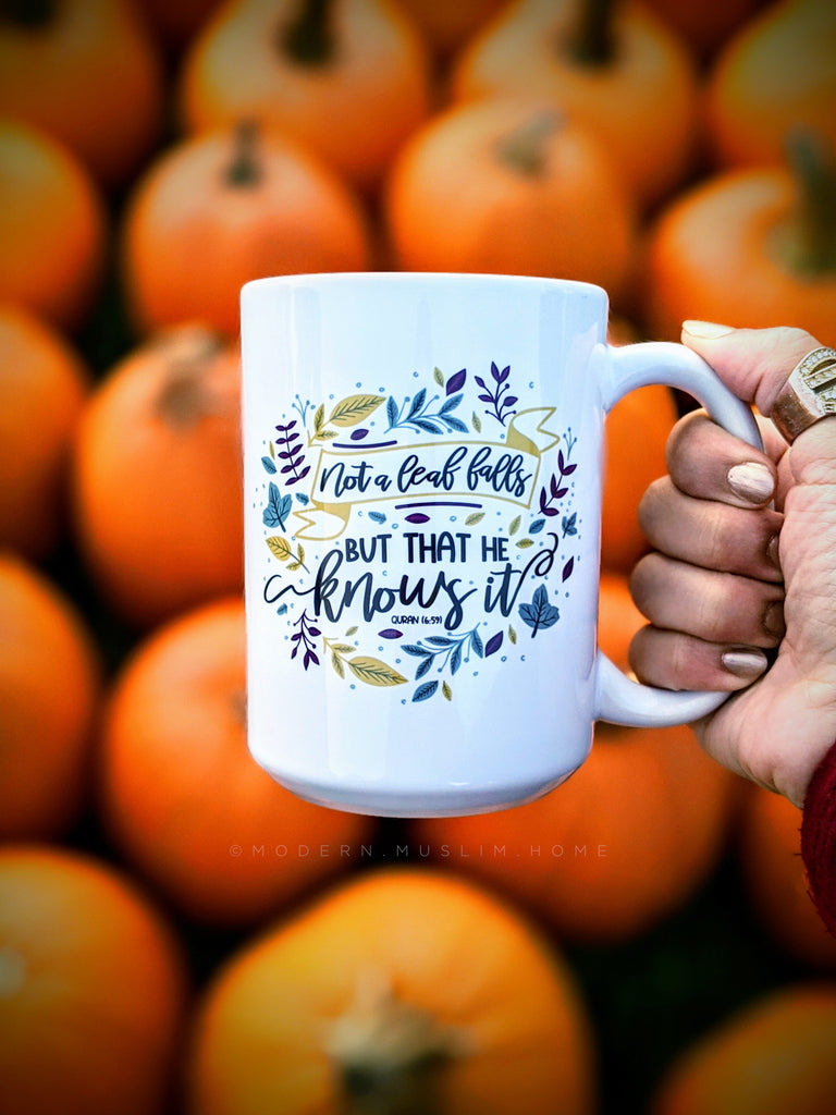 Fall Mug by Modern Muslim Home
