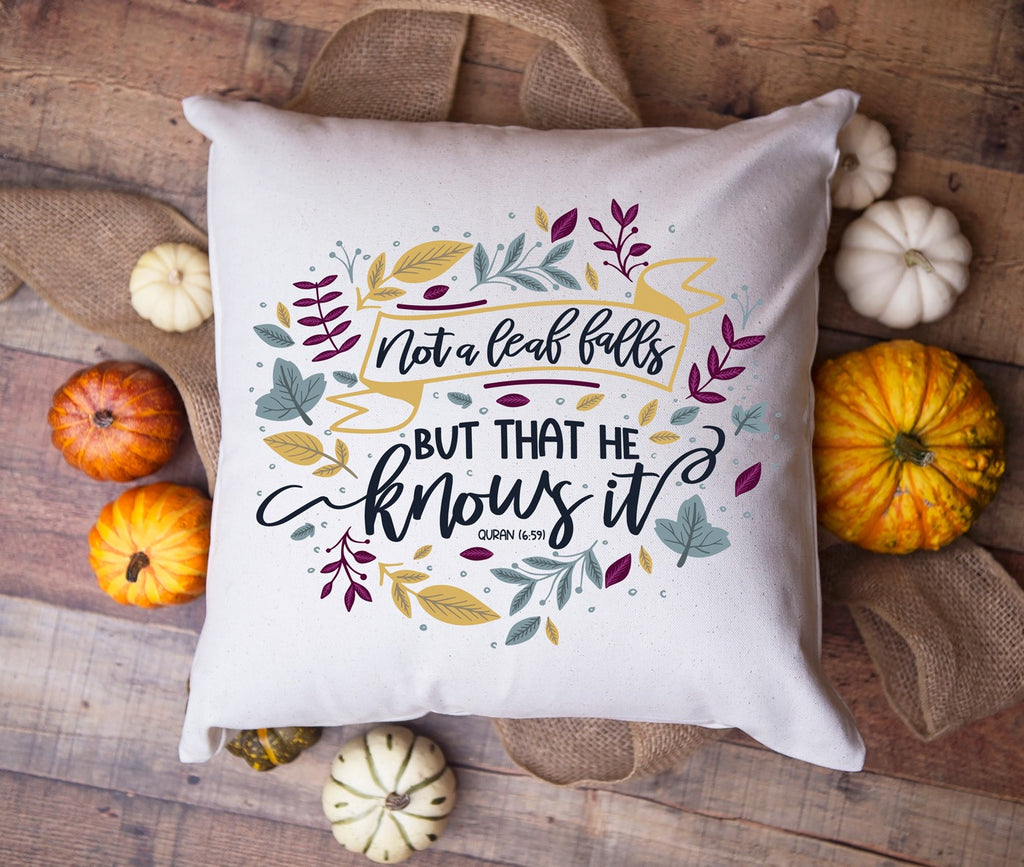 Fall Pillow by Modern Muslim Home