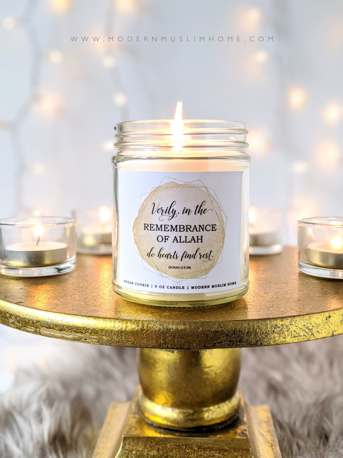 Remembrance Candle | Islamic Candles by Modern Muslim Home