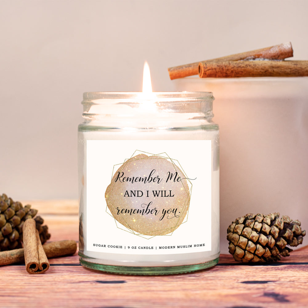 Remember Me Candle | Modern Muslim Home