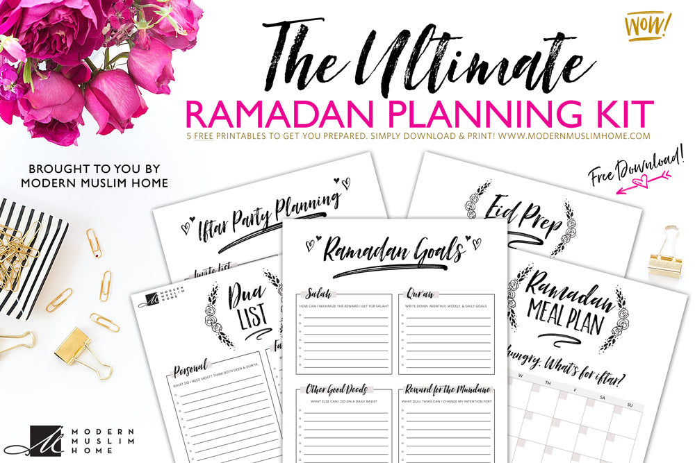 [Free] Ultimate Ramadan Planning Kit Download