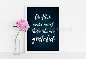 Make Us of Those Who are Grateful [Instant Download]