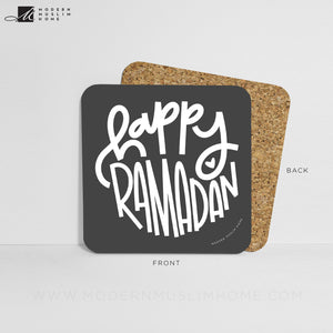 Happy Ramadan Coaster