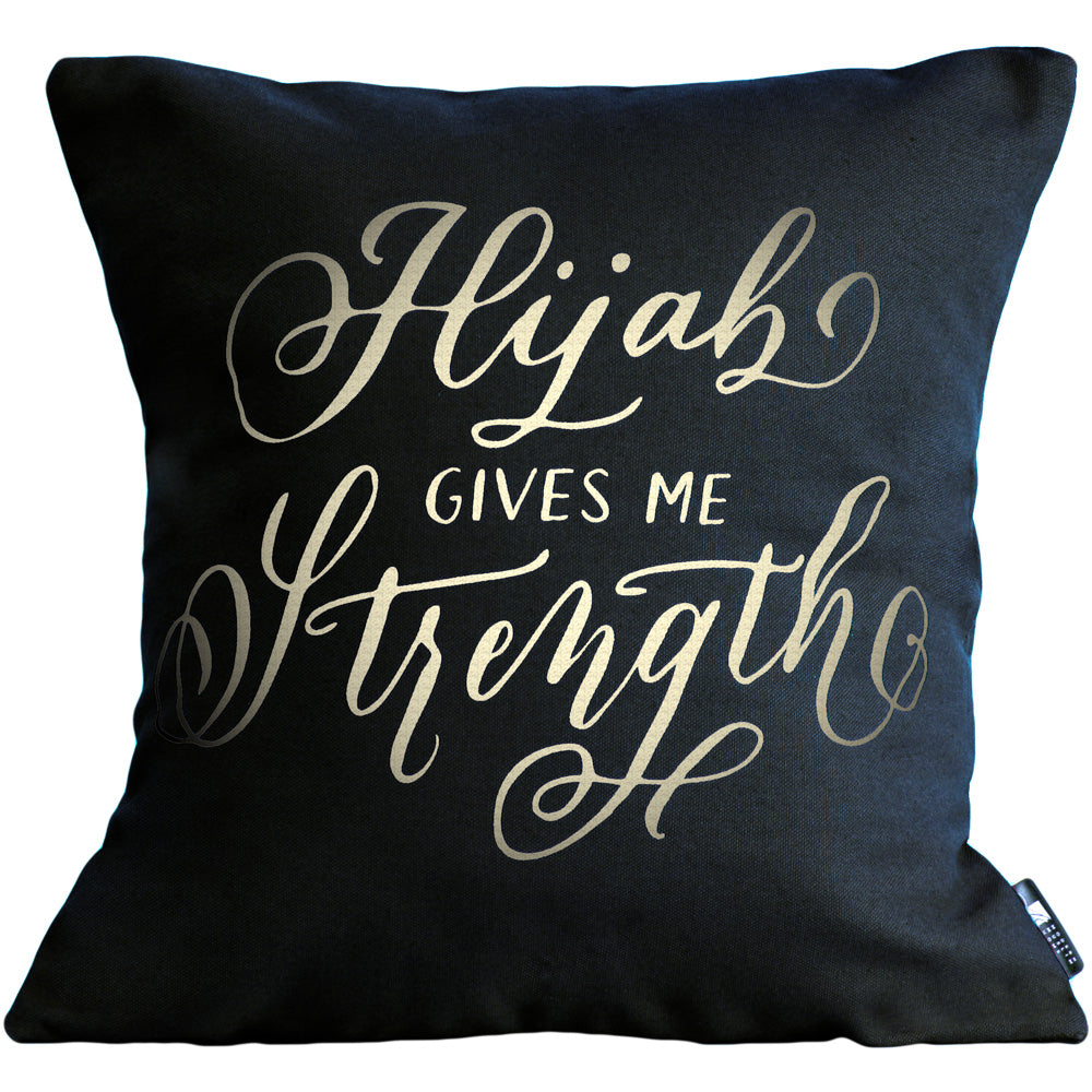 Hijab Gives Me Strength Pillow