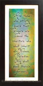 Inheritors of Paradise