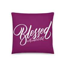 Load image into Gallery viewer, Blessed Pillow