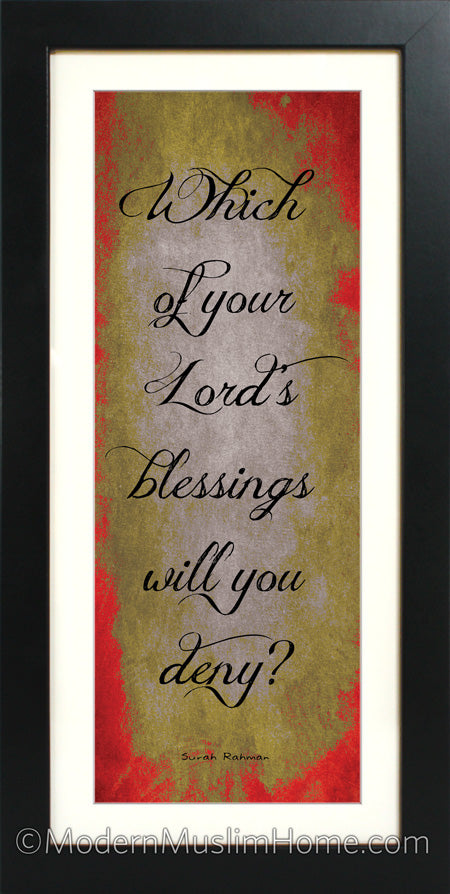 Your Lord's Blessings