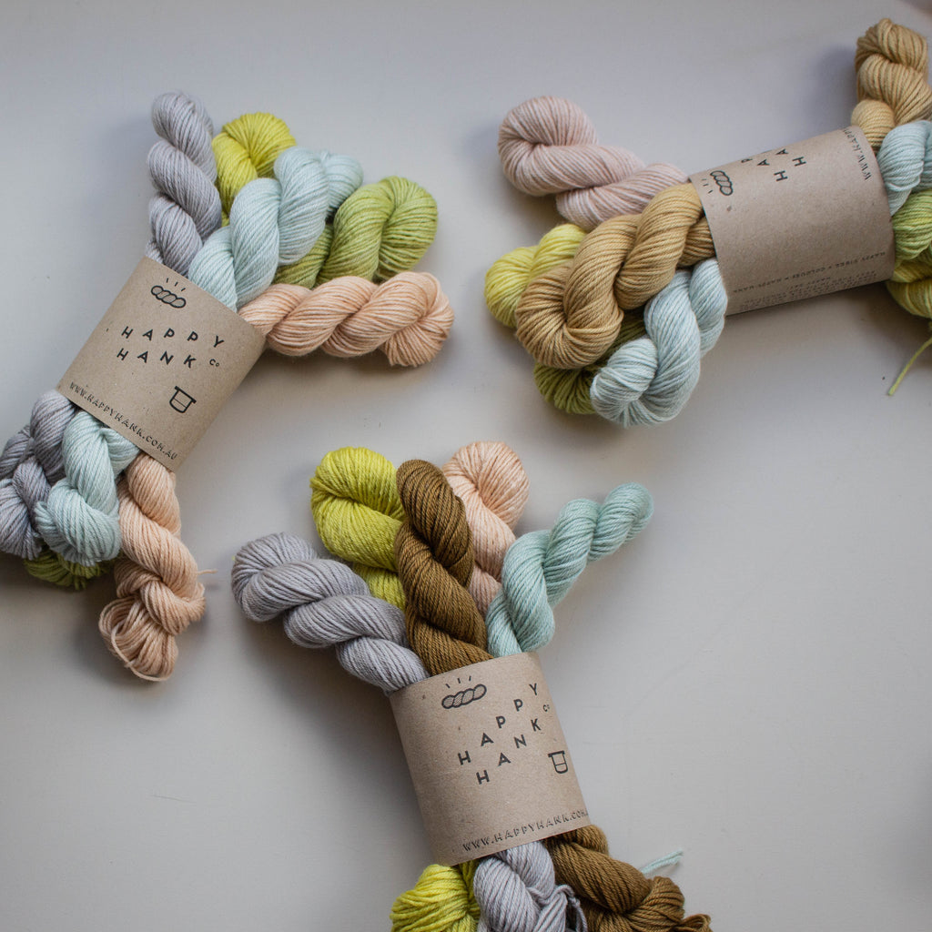 Botanically Dyed - Botanical Mix Minis Set [V.II ] - Classy Fingering