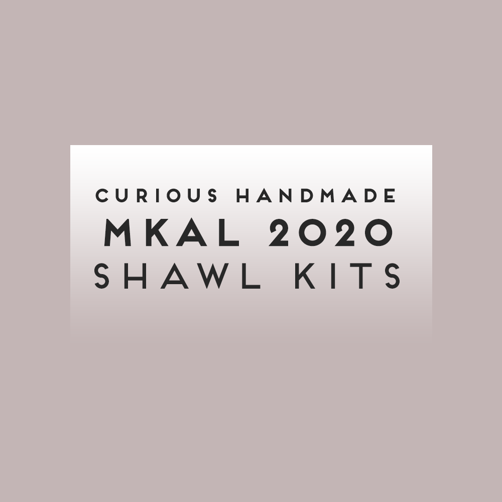 Curious Handmade MKAL 2020 SHAWL KITS [limited offer]