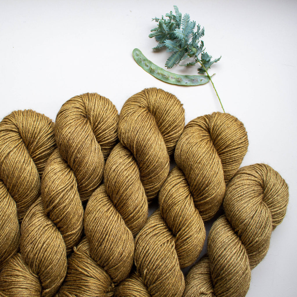 Botanically Dyed - Henna [8 Ply MYS]