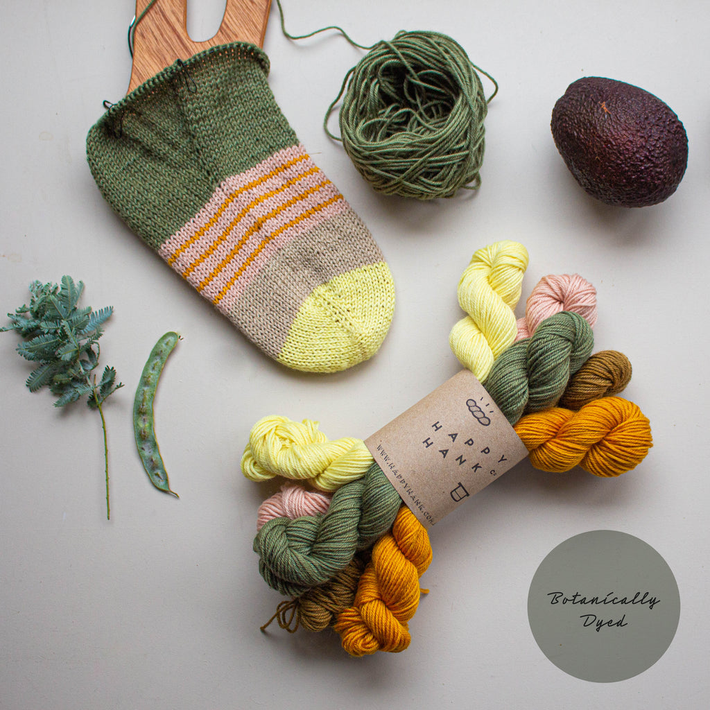 Botanically Dyed - Botanical Mix Minis Set [V.I ] - Classy Fingering