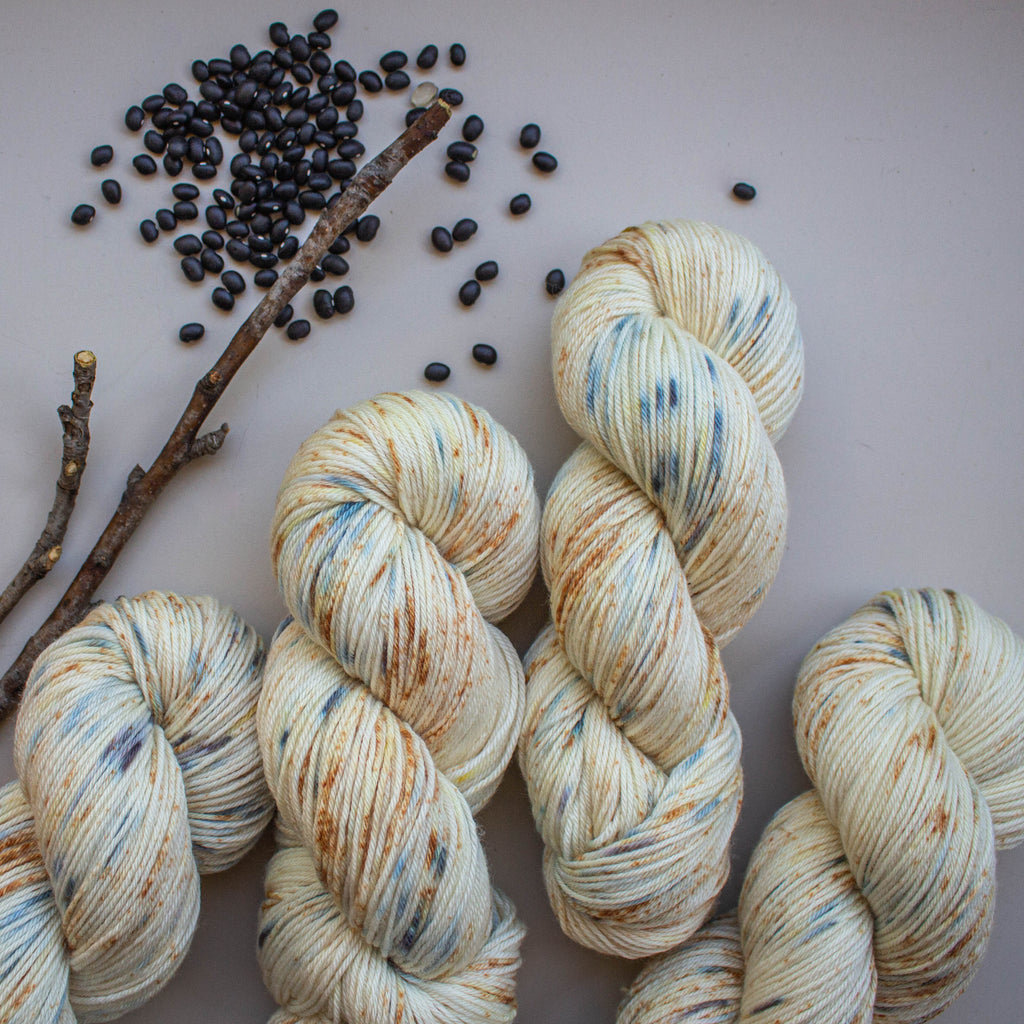 Botanically Dyed - Full of Beans [Sport 5 Ply SW Merino]