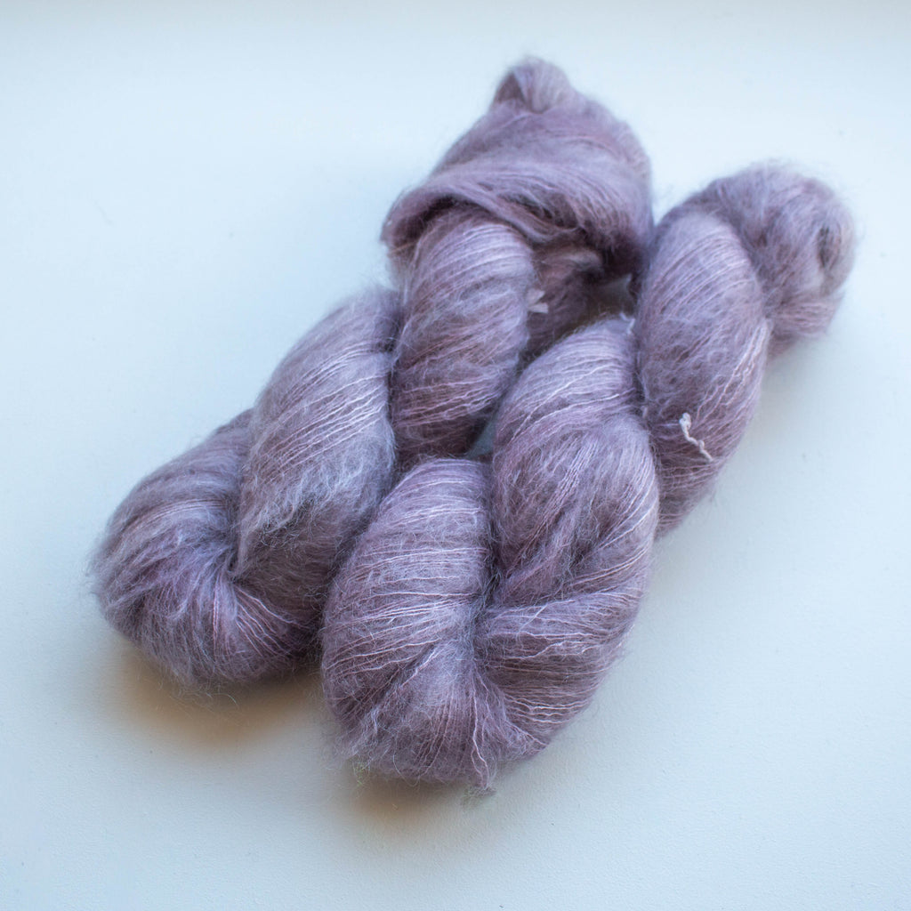 Cloud (70% Kid Mohair + 30% Mulberyy Silk)