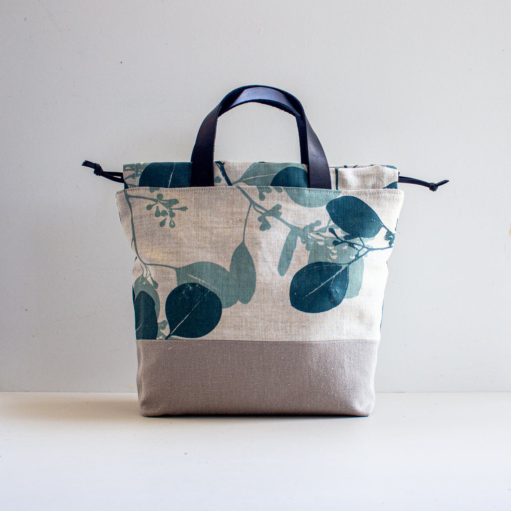 Project Bag [Teal Gumleaf]