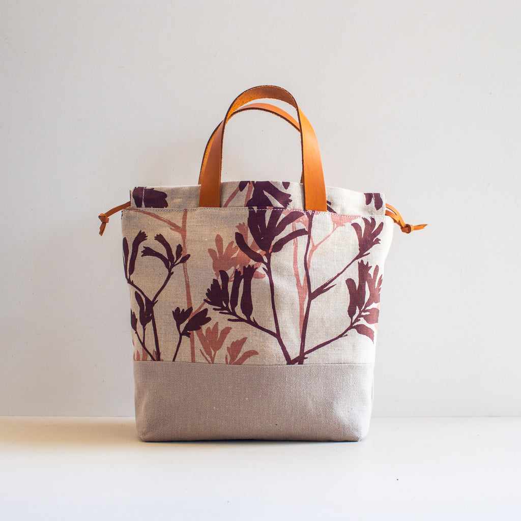 Project Bag [Auburn & Milo Kangaroo Paw]