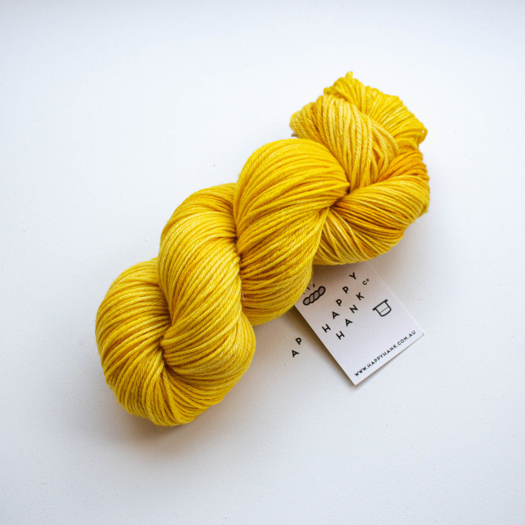 OOAK Warm Yellow [Merino 8ply Discontinued Yarn]