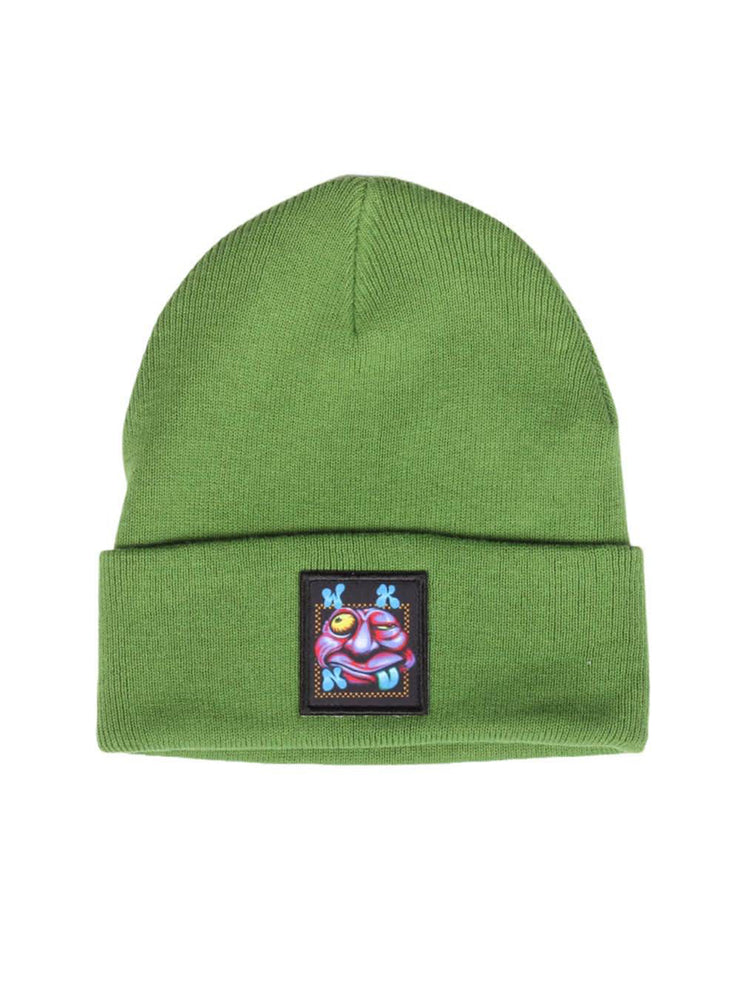 "WKND-""ZOOTED BEANIE""(GREEN)"