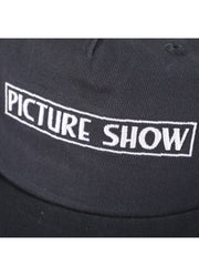 "PICTURE SHOW-""VHS SNAPBACK HAT""(NAVY)"