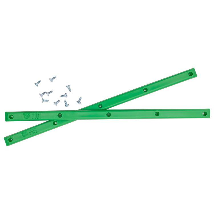 "PIG-""BOARD RAILS""(NEON GREEN)"