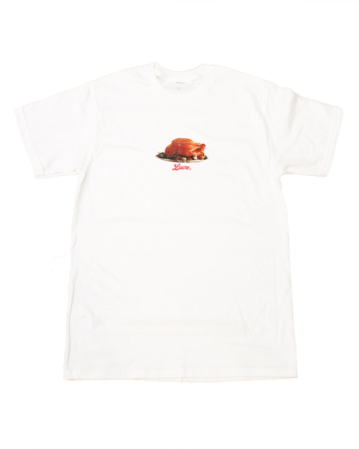"LUCRE-""FRANKLIN T-SHIRT""(WHITE)"