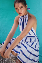 Load image into Gallery viewer, Arli Halter Stripe Dress