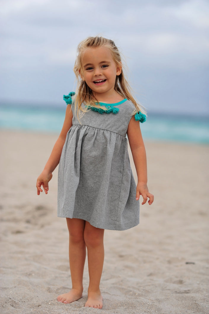 Elie Girls Tassel Dress