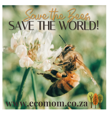 SAVE THE BEES, SAVE THE WORLD