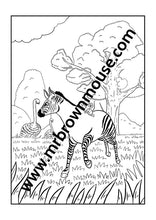 Mr Brown Mouse Downloadable Colouring-In Book