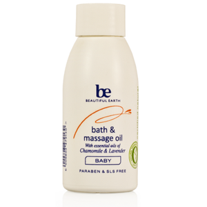 Beautiful Earth Baby Bath&Massage Oil 100ml