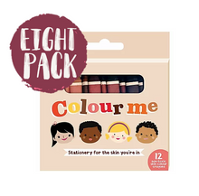 Colour Me Kids Crayons 8 PACK