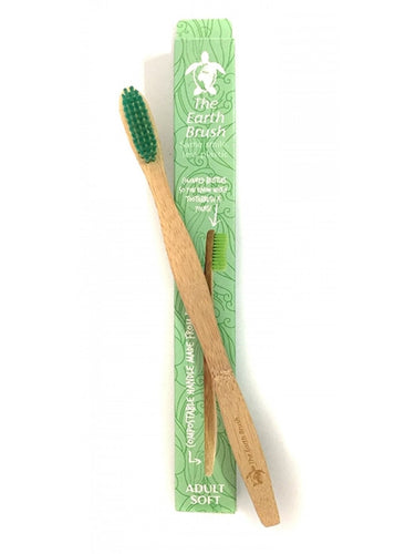 Earth Brush - Biodegradable Adult Toothbrush - Soft