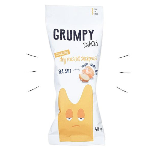 Grumpy Snacks - Sea Salt - 3 FOR THE PRICE OF 2