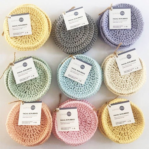 LovisaLife Facial Scrubbies