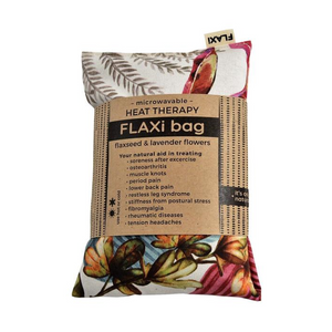Flaxi Flaxseed & Lavender Heat Therapy Bag - Rainforest