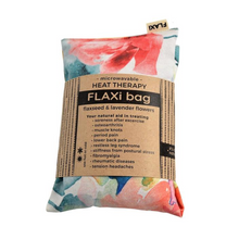 Flaxi Flaxseed & Lavender Heat Therapy Bag - Watercolours